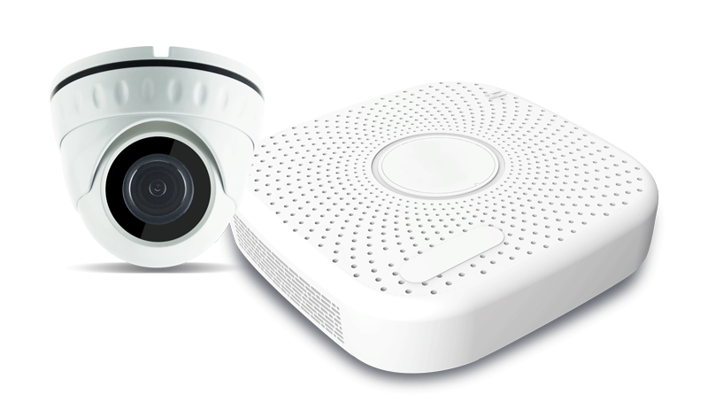 Kit de video surveillance IP